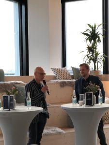 Engineering Artist Thomas Schönauer und André Paetzel, Head of Brand, Kienbaum Consultants